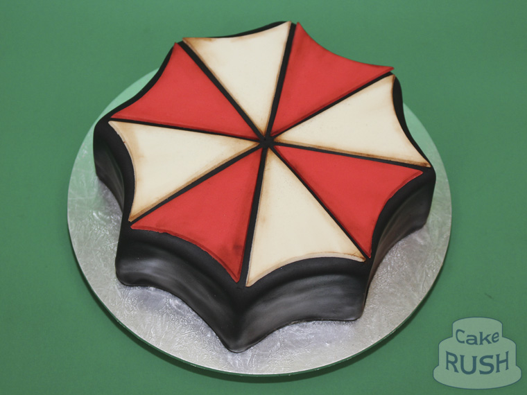 Umbrella Corporation (Resident Evil) cake