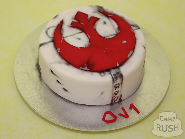 Rebel Logo (Star Wars) cake