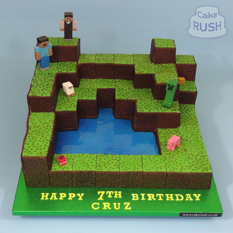 Minecraft Edible Cake Topper Amazon