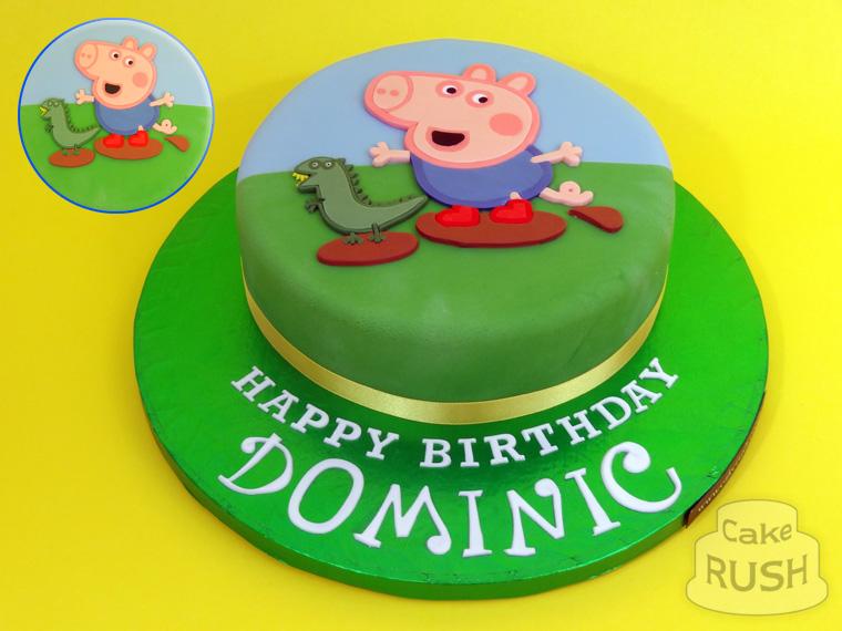 Happy Birthday Cake Peppa Pig