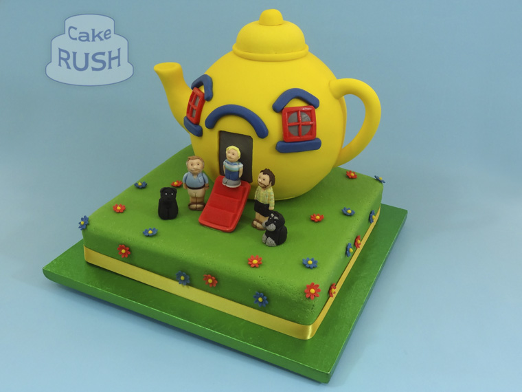 Big Yellow Teapot cake