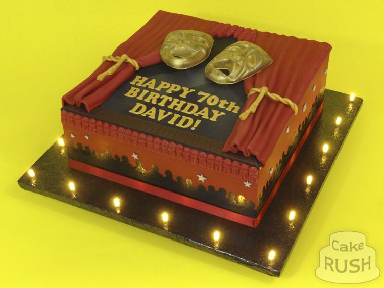Comedy Birthday Cake