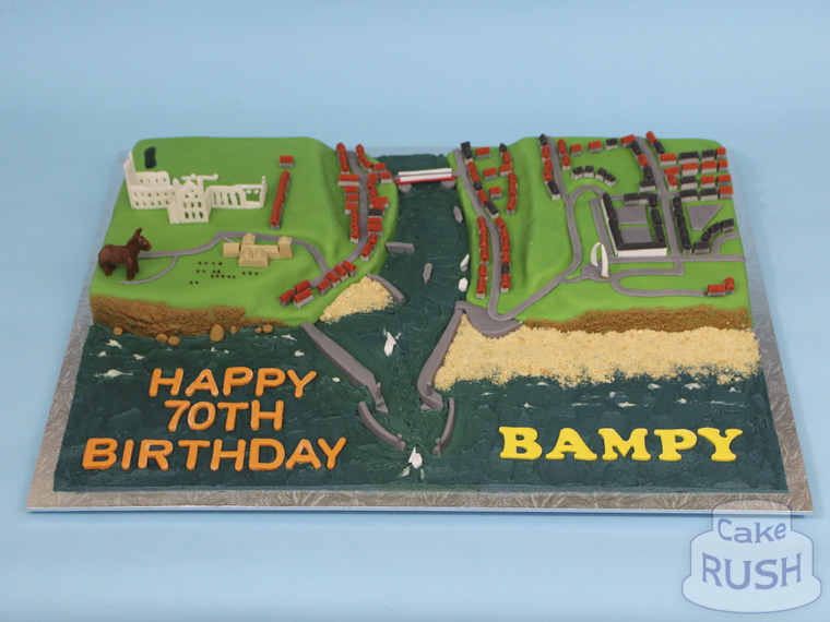 Whitby Harbour cake