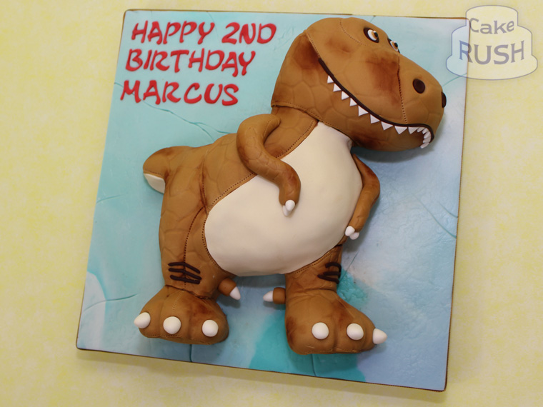 Ramsey (The Good Dinosaur) cake
