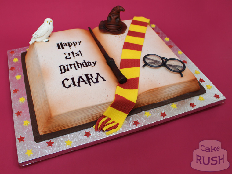 Harry Potter Book cake 3