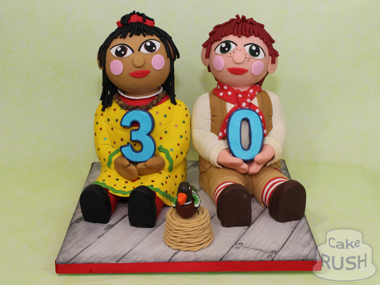 Rosie and Jim cake